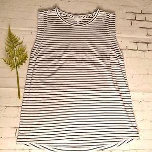 Witchery Size XS Tank Top Striped Casual Exc Cond